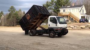 mitsubishi fuso fg 639 dump truck for sale atthe com youtube