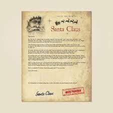 santa letters written by santa letters from santa written by santa