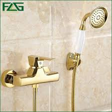 compare prices on bathroom wall mixer online shopping buy low flg concise wall mounted bathroom faucet bath tub mixer tap with ceramic handle hand shower head