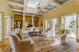 living room in mansion update u0027scarface u0027 mansion sells for 22m under original ask