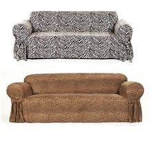 Ebay Sofa Slipcovers by Zebra Couch Home U0026 Garden Ebay