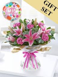 50th birthday flowers and balloons birthday flowers cork happy birthday flowers from shandon flowers