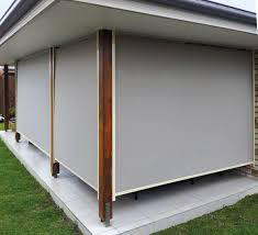 Track Guided Outdoor Blinds Made To Measure Outdoor Blinds Call You Local Stratco Store Today