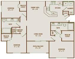 large apartment floor plans beautiful three bedroom apartment floor plans photos liltigertoo