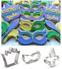 mardi gras cookie cutters flour box bakery how to decorate a mardi gras mask