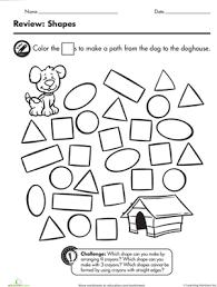 learning shapes squares worksheet education com