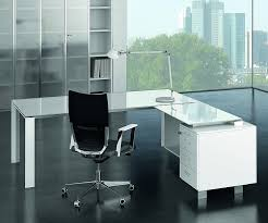 Glass Desk Office Beautiful White Glass Office Desk Photos Liltigertoo