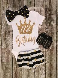birthday onesie 1 2 birthday onesie gold half birthday onesie bellapiccoli