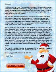 personalized letter from santa santa letters for christmas