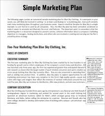 sample of marketing letters to business simple business plan sample word template free download basic uk