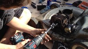 cylinder honing push mower repair