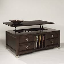 lift top coffee table with storage steve silver crestline rectangle distressed walnut wood lift top