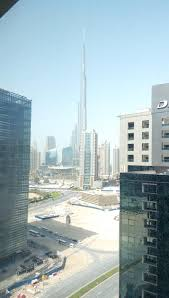 lake and burj khalifa view higher floor myuaeguide com