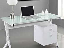 gripping photos of clear computer desk bright gray executive desk