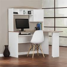 mainstays l shaped desk with hutch multiple finishes walmart com