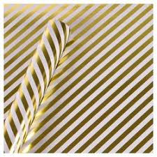 gold glitter wrapping paper gold glitter stripe gift wrap spritz target