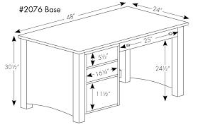 Standard Desk Height Us Standard Desk Size Rooms
