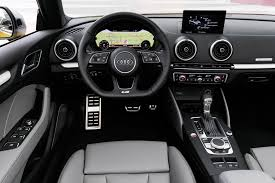 audi a3 dashboard review 2017 audi a3 gets a facelift but biggest changes are on