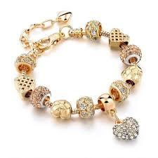 crystal heart charm bracelet images Crystal heart charm bracelets sleekzpro jpg