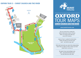 Oxford England Map by Oxford Mp3 Audio Walking Tours Tourist Tracks