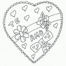 imagenes de amor para dibujar grandes 74 corazones de amor para pintar imprimir descargar y regalar