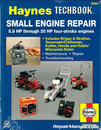 haynes small engine repair haynes techbook 5 5 hp through 20 hp