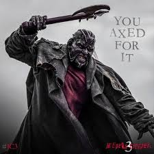 jeepers creepers costume no there is not a pun in poster for jeepers creepers 3