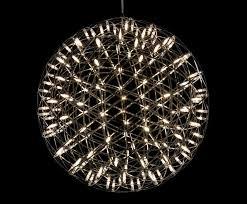 Design Chandeliers Moooi S Raimond Chandelier Bursts With Dozens Of Tiny Led Lights