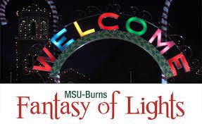 fantasy of lights 5k msu burns fantasy of lights 5k 1 mile fun run