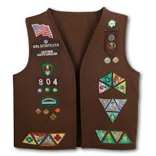 South Carolina travel vests images Best 25 girl scout brownie vest ideas girl scout jpg