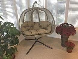 Trully Outdoor Wicker Swing Chair by Indoor Egg Chair Wayfair