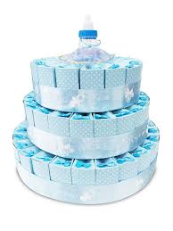3 tier baby shower favor cake kit it u0027s a boy u2013 number1inservice