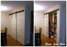 Barn Door Closet Hardware Sliding Door Closet Hardware Sliding Pantry Door Using Barn