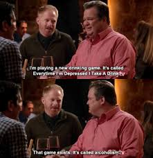 Modern Family Memes - it s called alcoholism weknowmemes