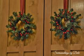 decorating with accent wreaths