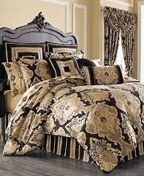 j queen new york bradshaw black comforter sets bedding
