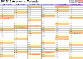 yearly planner template academic calendars 2015 2016 as free printable word templates template 3 academic calendar 2015 16 for word landscape orientation months horizontally