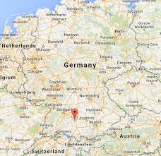 map germany austria where is ulm on map germany world easy guides