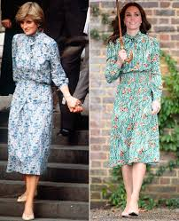 Kate Middleton Dress Style From by Kate Middleton Channels Princess Diana In Prada Dress People Com