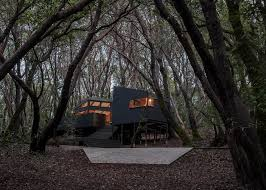 forest house by envelope a d