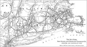 New York Rail Map by The New York New Haven And Hartford Railroad Maps Pinterest