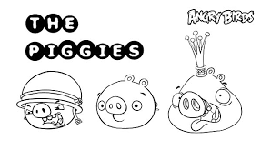 angry bird pigs member coloring pages bulk color