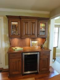 Bar Hutch Cabinet Bar Cabinet With Wine Refrigerator Foter