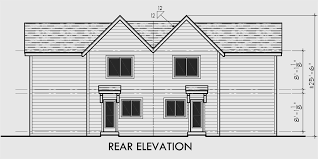 duplex floor plans for narrow lots duplex house plans for small and narrow lots 3 berooms 2 5 baths