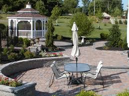 Octagon Patio Pavers by Backyard Pool Oasis R U0026r Caddick Landscape Design