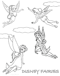 articles printable coloring pages tinkerbell fairy