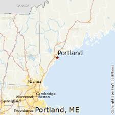 map of maine with cities best places to live in portland maine