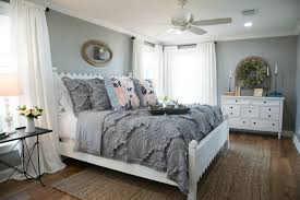 fixer upper gray paint colors carriage house and master bedroom