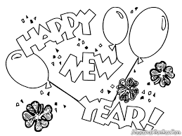 printable new years coloring pages funycoloring