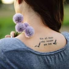 literary quote tattoos popsugar australia